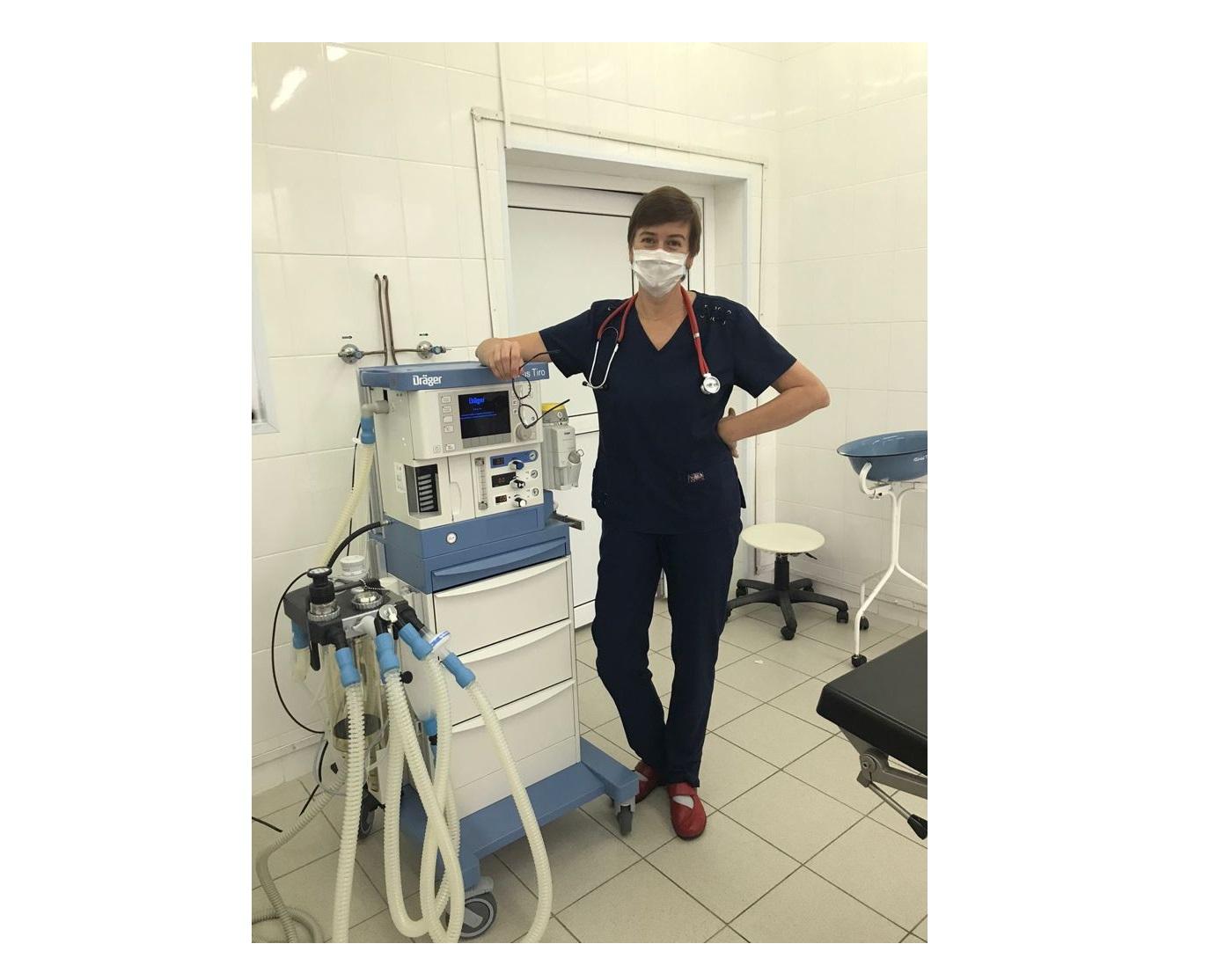 В больницу №9 Ярославля поступило новое наркозное оборудование