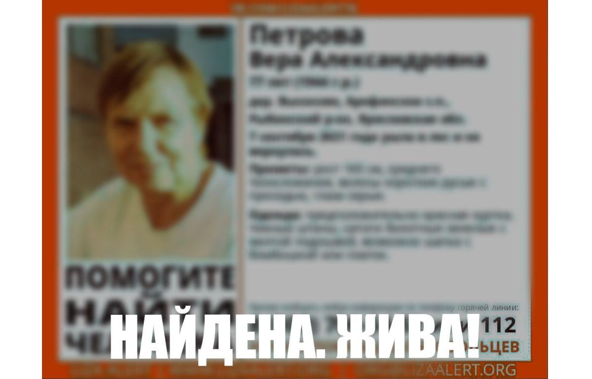 Терпела холод и голод два дня: в Ярославской области заблудившаяся пенсионерка сама вышла из леса