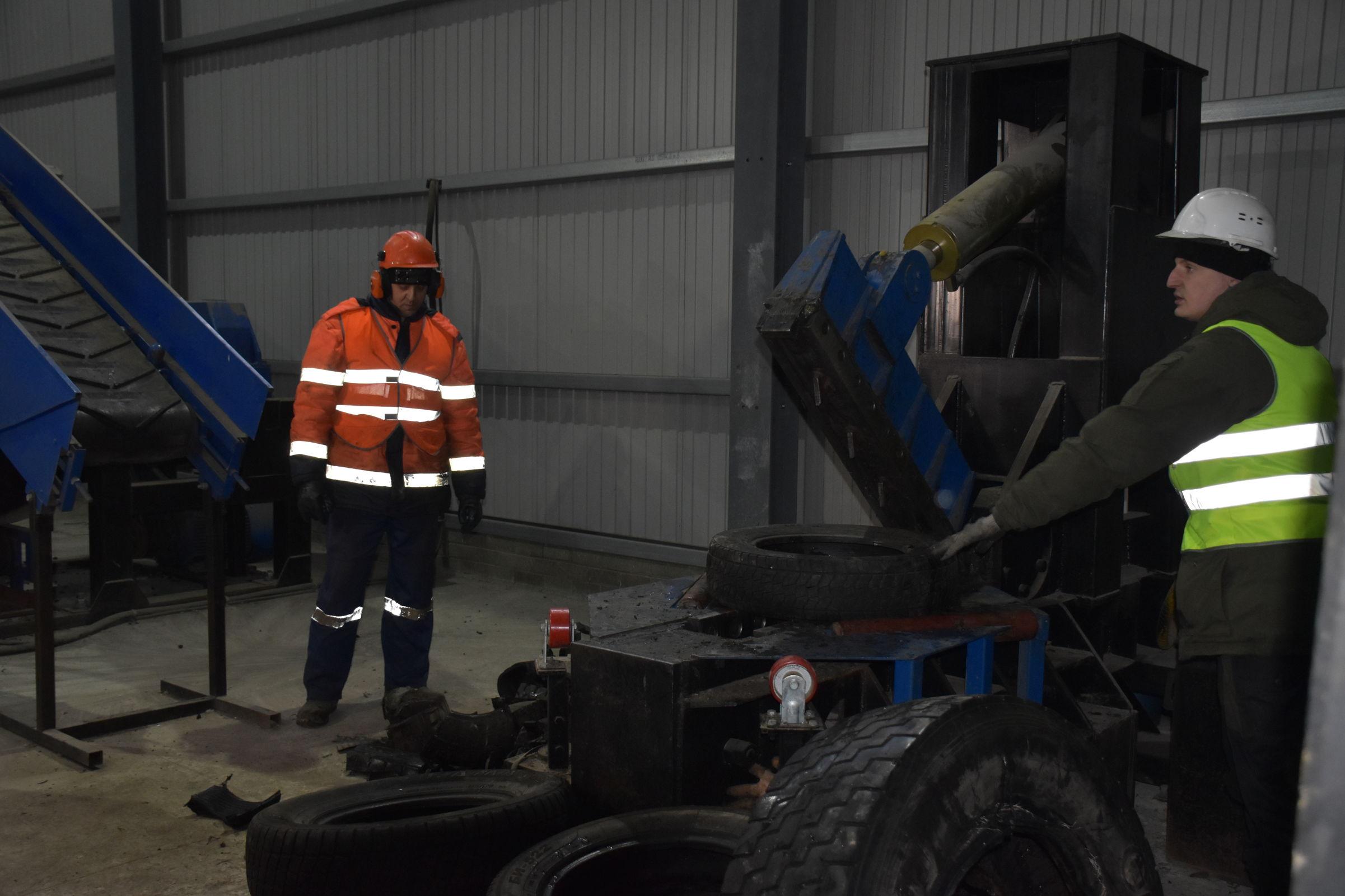17 тонн автопокрышек собрали в рамках экоакции в Рыбинске