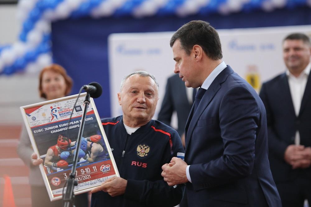 Дмитрий Миронов открыл новый физкультурно-оздоровительный комплекс в Ярославле