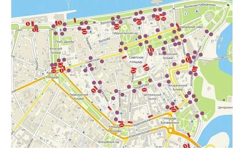В День города в Ярославле ограничат движение транспорта до окончания мероприятий