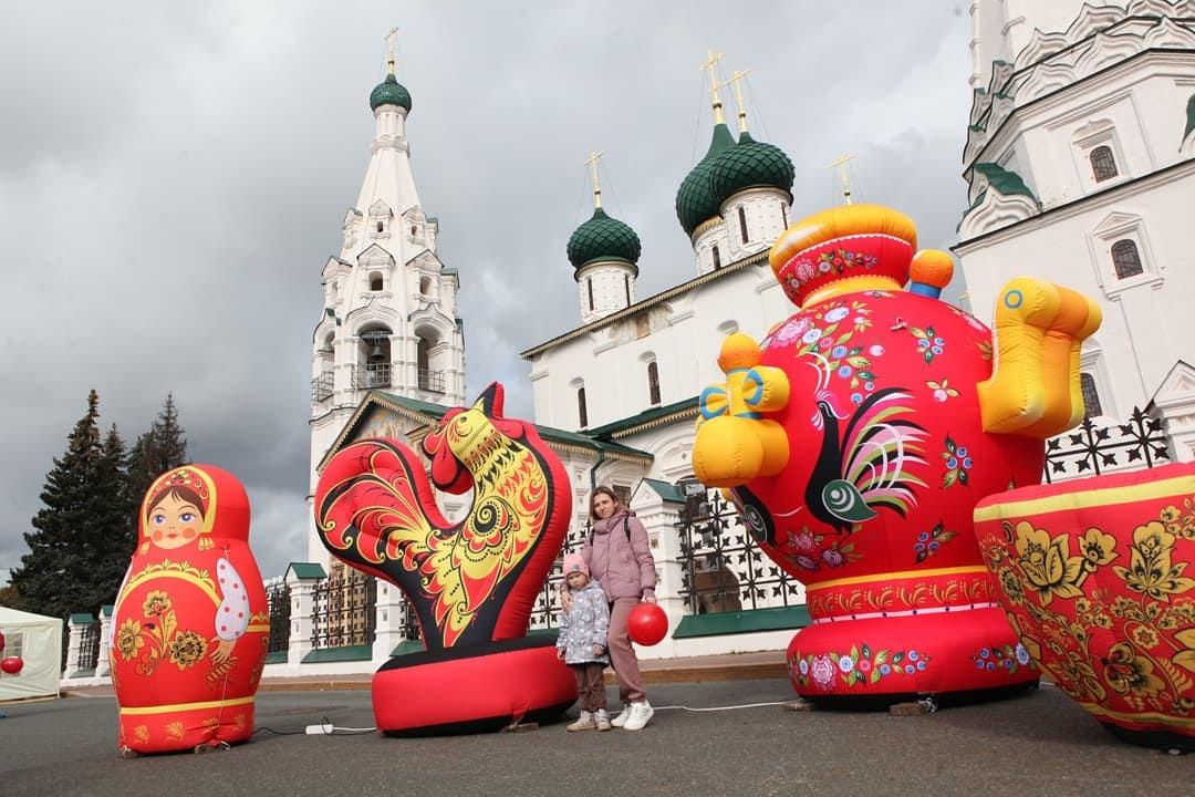 Дмитрий Миронов поздравил ярославцев с Днем города