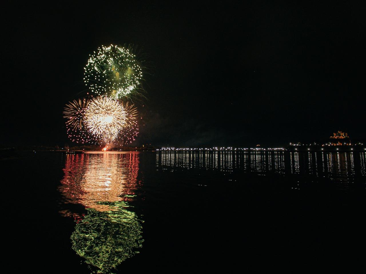 Появилось видео самых ярких моментов с празднования Дня города в Ярославле