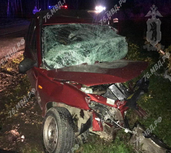 В результате лобового столкновения в Ярославской области скончалась женщина – водитель ВАЗа