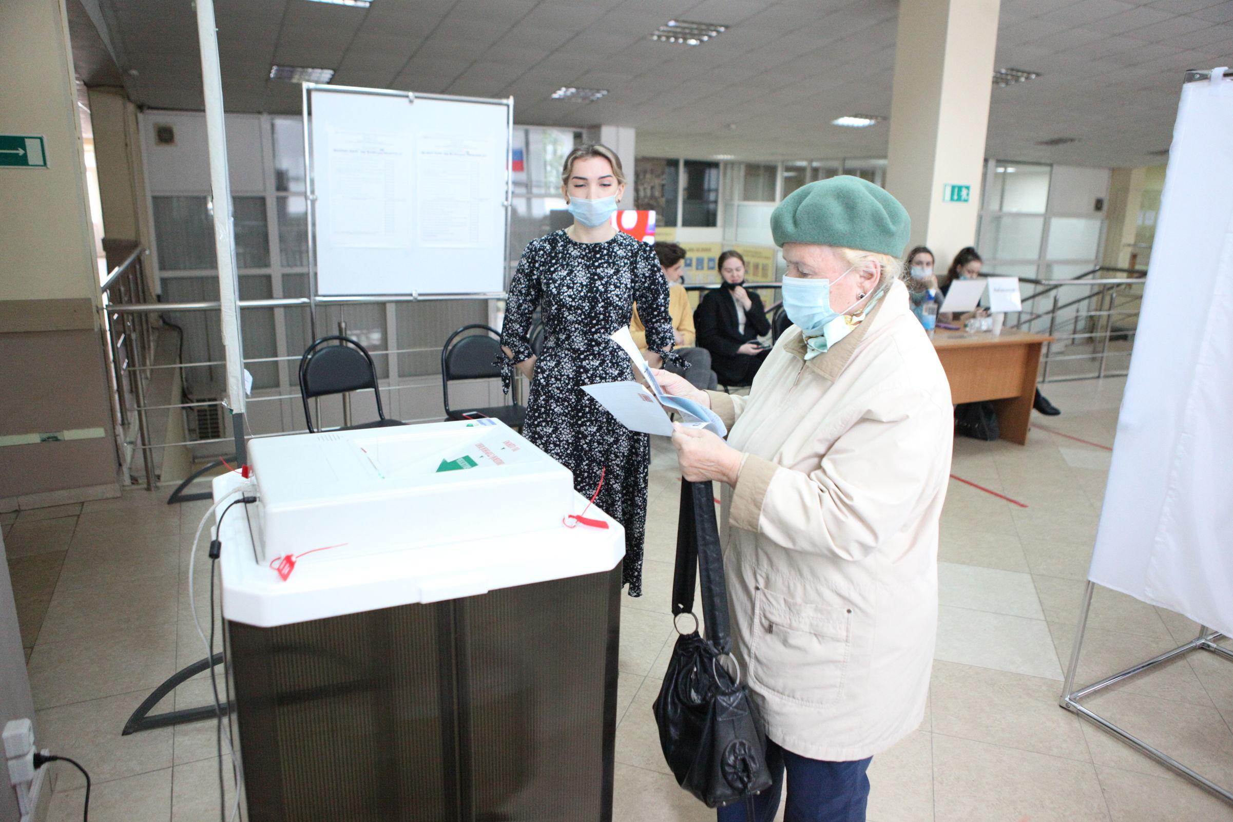 На всех избирательных участках Ярославской области во время выборов велось видеонаблюдение
