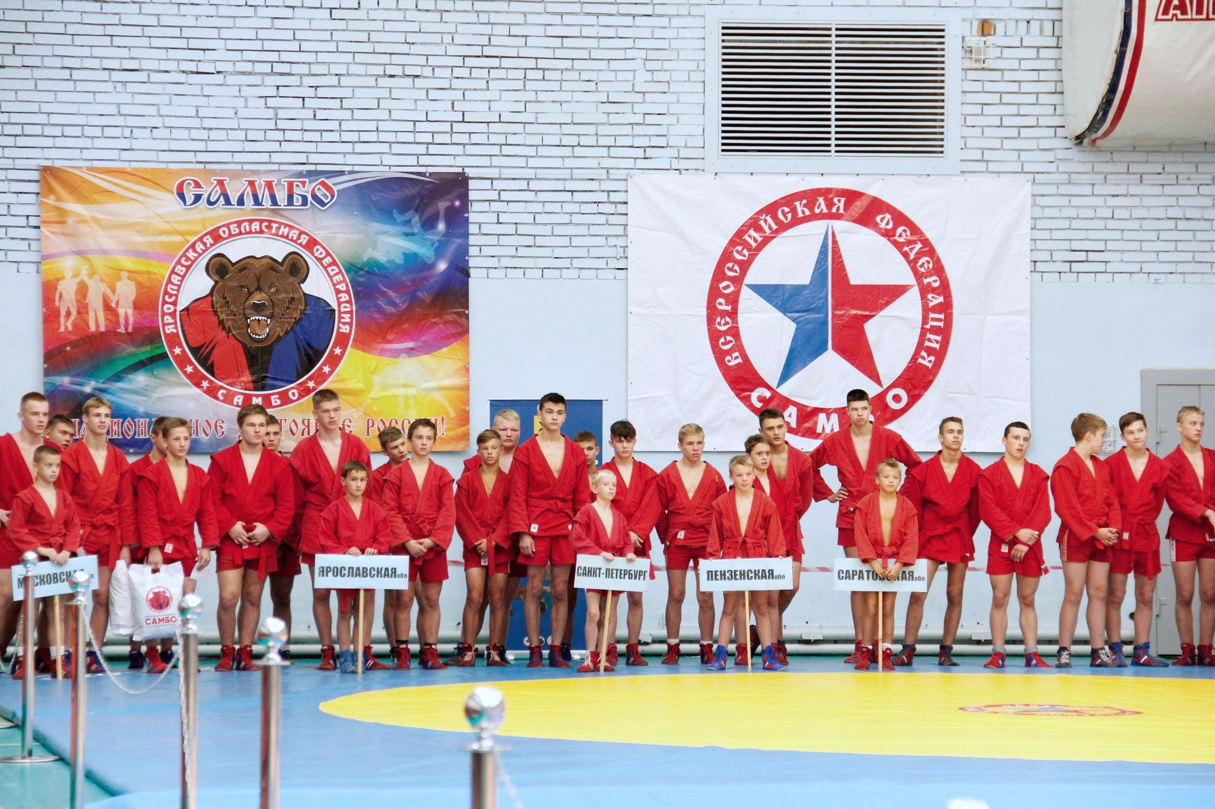 Сборная команда региона заняла первое место на юношеском турнире по самбо на кубок губернатора