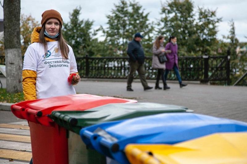 Более 50 кубометров отходов, собранных в рамках экоакции в День города Ярославля, направлено на вторичную переработку