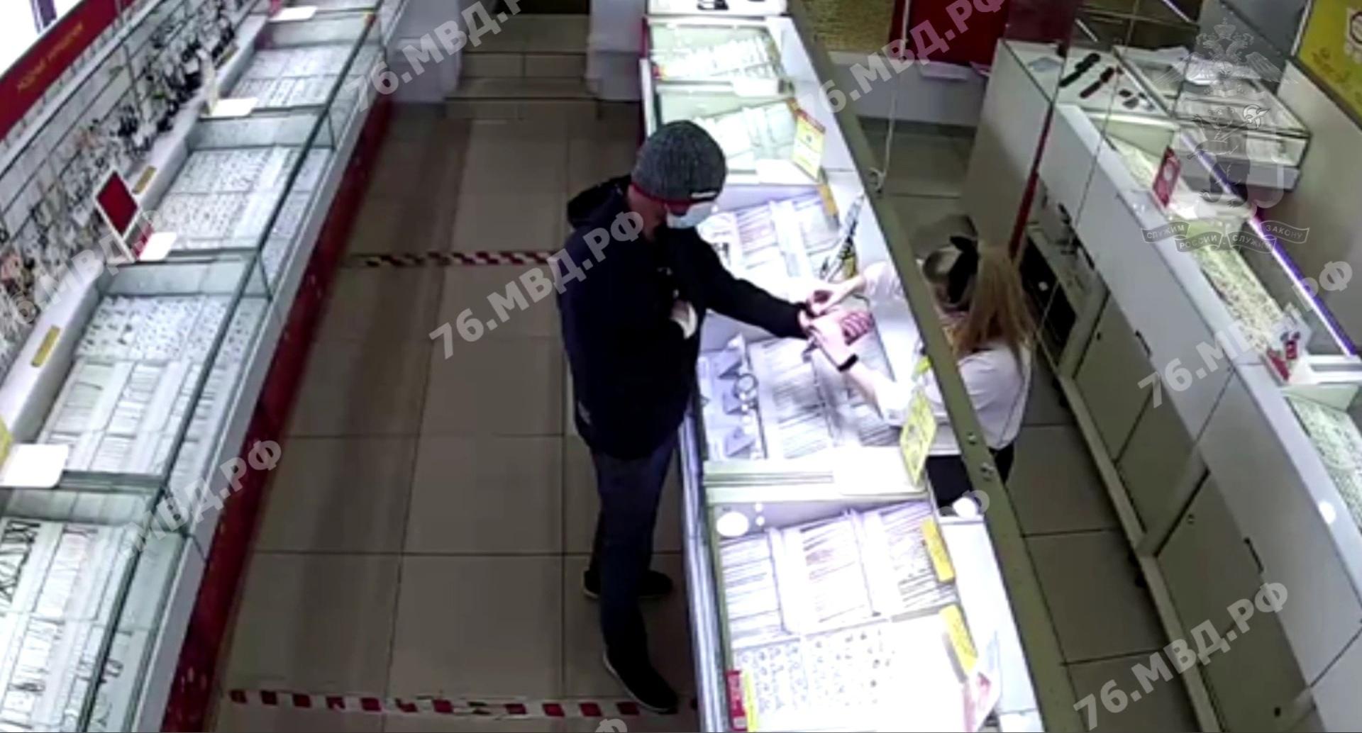 В Ярославле обокрали ювелирный магазин