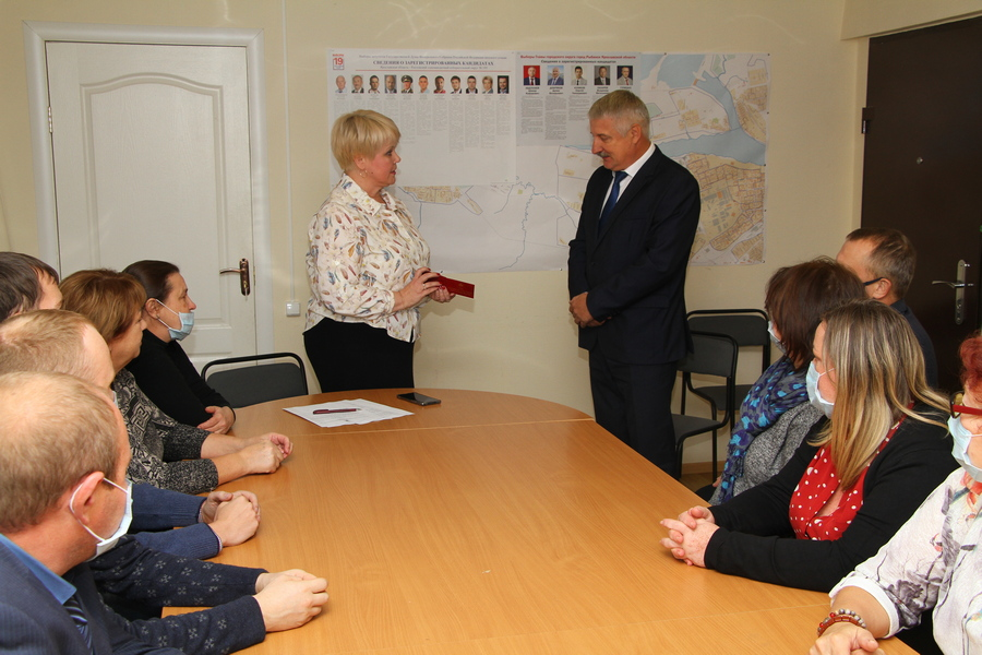 Денис Добряков получил удостоверение главы Рыбинска