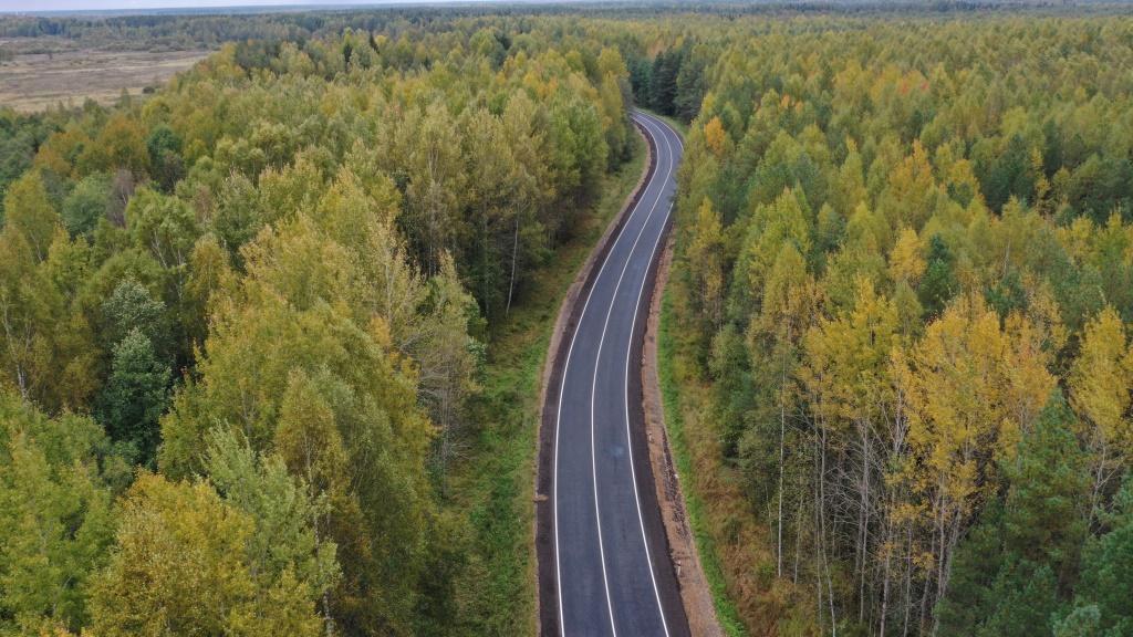 Дорогу от села Купанского до Нагорья планируют сдать до конца сентября