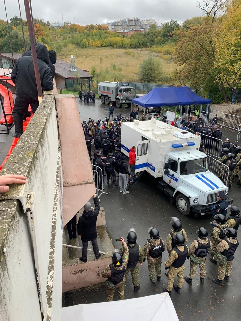 Болельщиков «Шинника» задержали перед матчем с «Торпедо-Владимир»