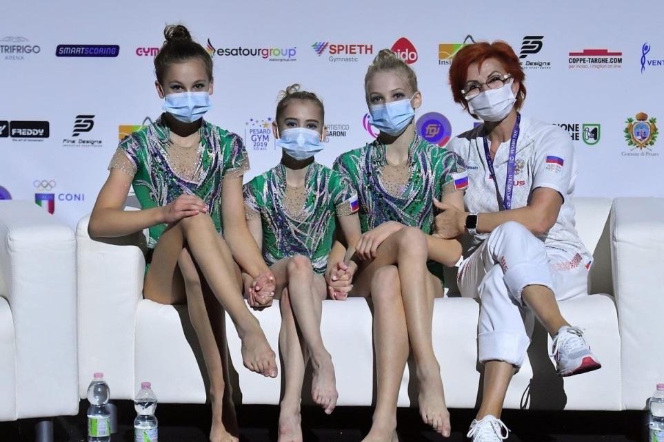 Ярославские спортсменки стали победительницами первенства Европы по спортивной акробатике