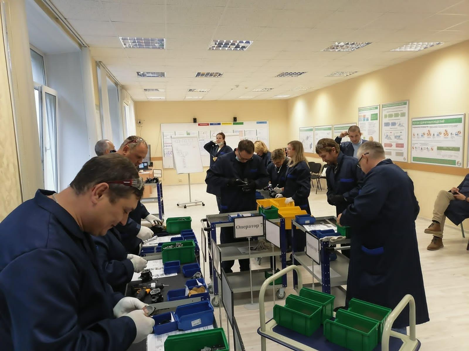 Ярославский производитель снегоходов и мотовездеходов освоил инструменты бережливого производства