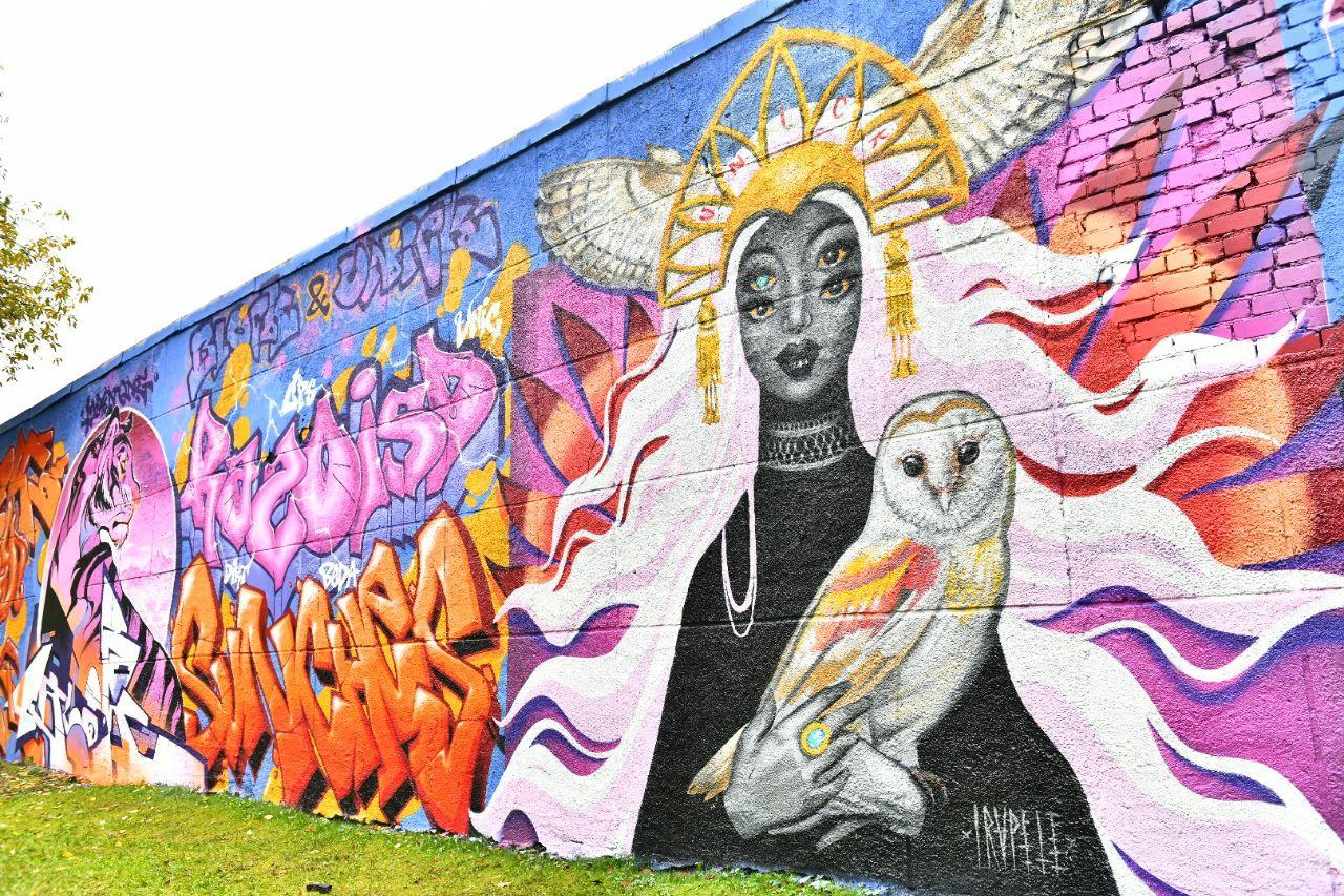 На фестивале в Ярославле создали новые граффити: где можно увидеть современное творчество