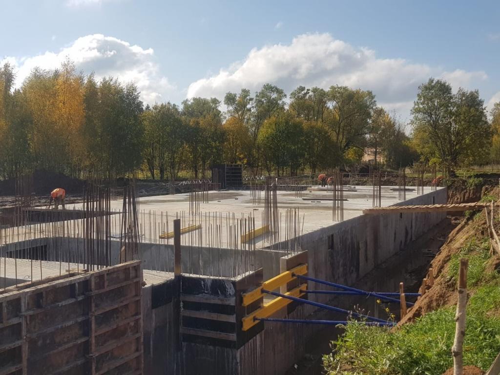 Новую школу в Ярославской области строят по индивидуальному проекту