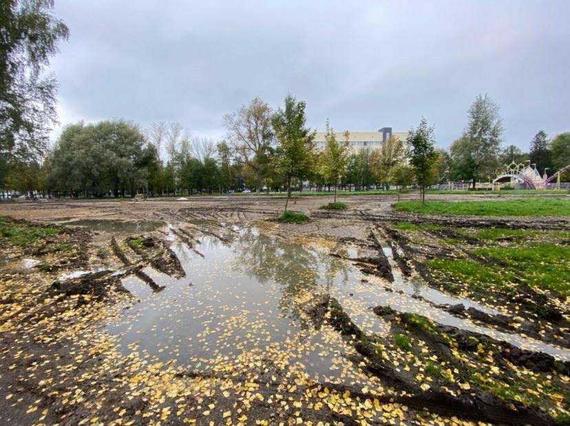 В мэрии Ярославля рассказали о степени готовности Юбилейного парка и Тверицкой набережной