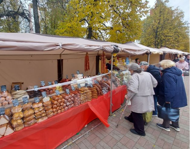 Сельхозпродукция из 15 регионов России представлена на ярмарке «ЯрАгро-2021» в Ярославле