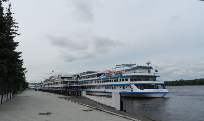 В Ярославской области более чем в два раза выросло число круизных туристов