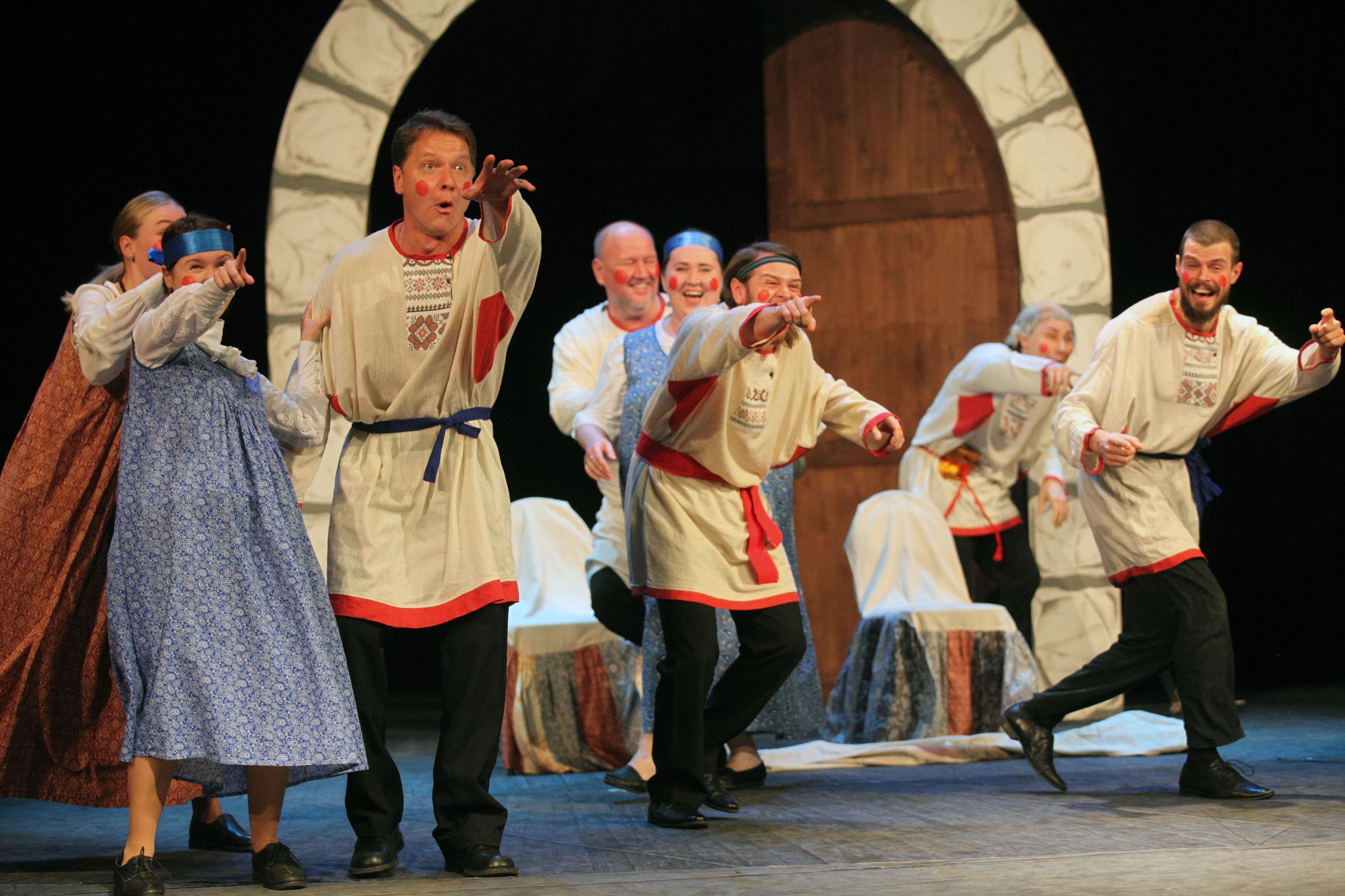 Коллективы из Ярославской области стали победителями всероссийского фестиваля «Охочие комедианты»