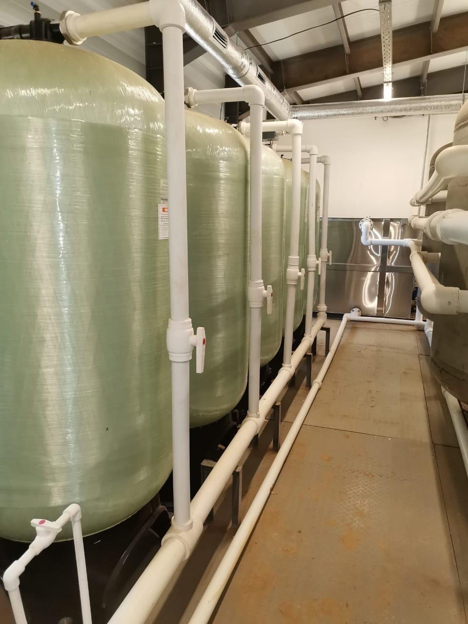 В Пошехонье завершается строительство станции водоподготовки