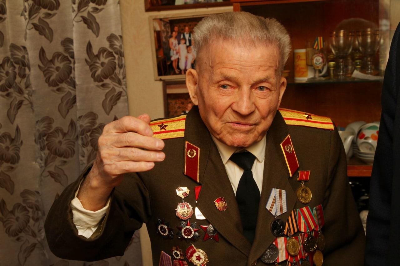 Ветеран Великой Отечественной войны из Рыбинска отметил 100-летие
