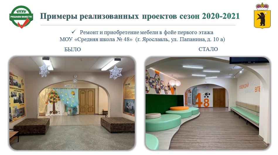 Названы школы Ярославской области, которые отремонтируют в следующем году по губернаторской программе