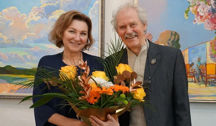 Народного художника Александра Кариха наградили медалью «Во благо земли Ярославской»
