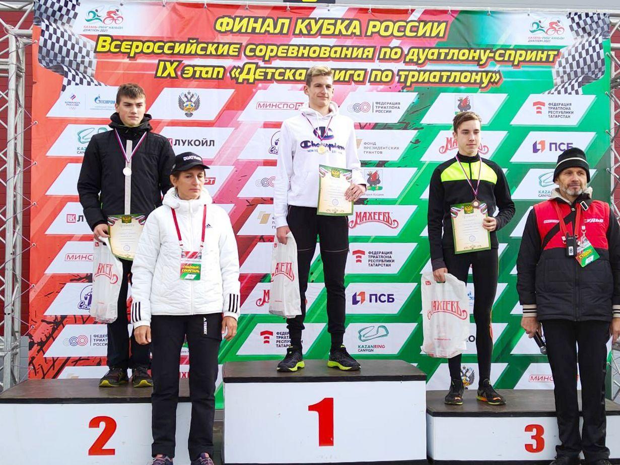 Ярославцы одержали победу в финале Кубка России по триатлону
