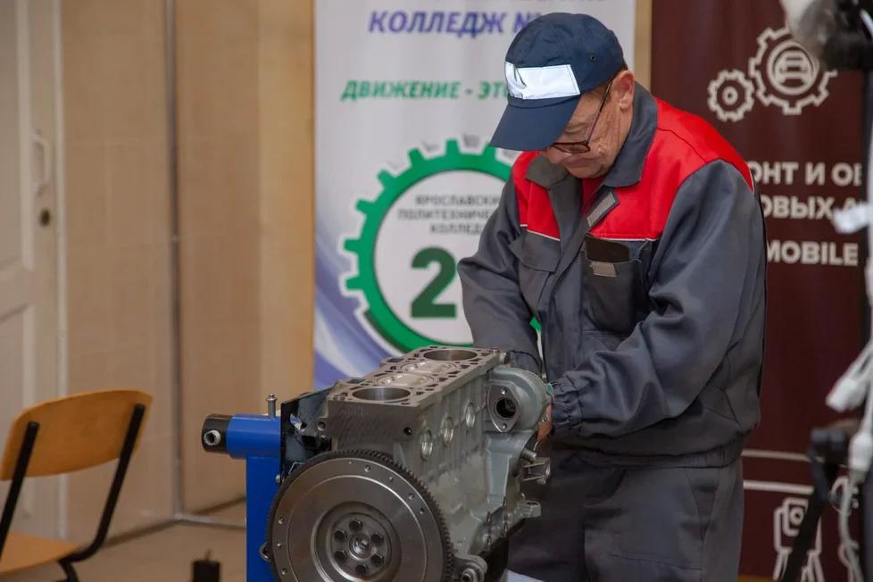 Ярославец вошел в число лучших в финале национального чемпионата «Навыки мудрых»