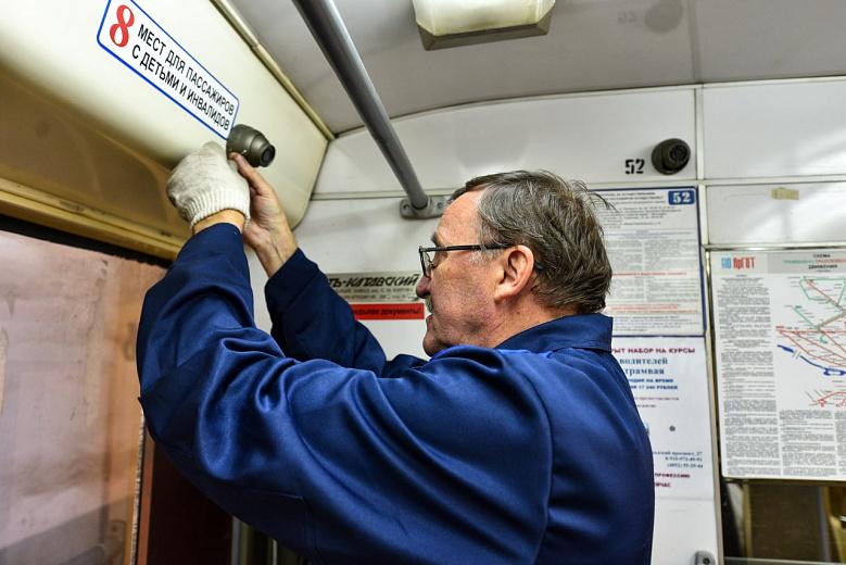 В транспорте Ярославля устанавливают камеры наблюдения