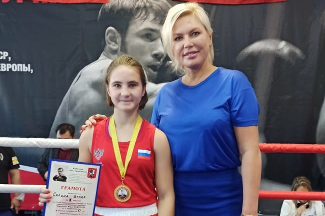 Ярославская спортсменка стала победительницей открытого турнира по боксу