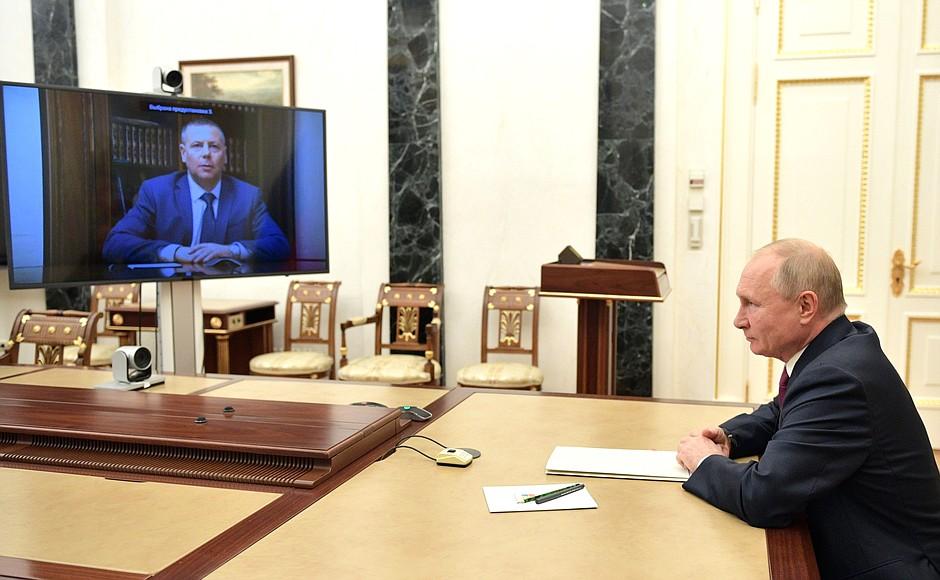 Владимир Путин провел встречу с новым врио губернатора Ярославской области