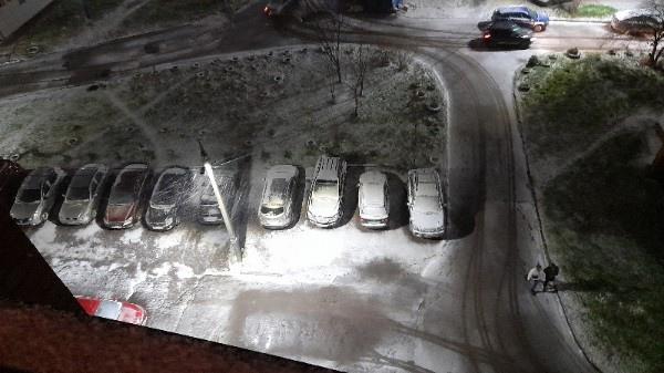 Ярославцы в соцсетях делятся фото и видео первого снега