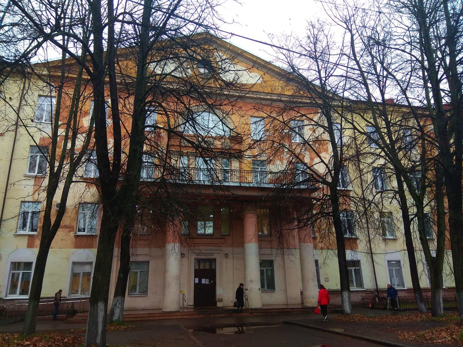 Первую поликлинику на проспекте Октября в Ярославле перепрофилируют для пациентов с коронавирусом