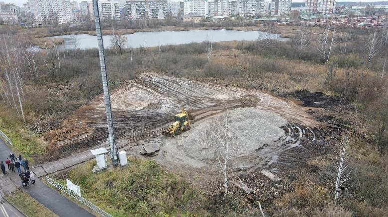 В Ярославле на особый контроль взяли работы на Озерной гривке