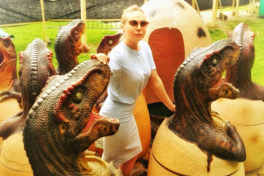 Депутат предложила установить в Ярославле урны в виде динозавров
