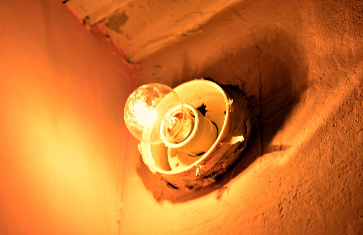 Пятерка осталась без света из-за аварии на сетях