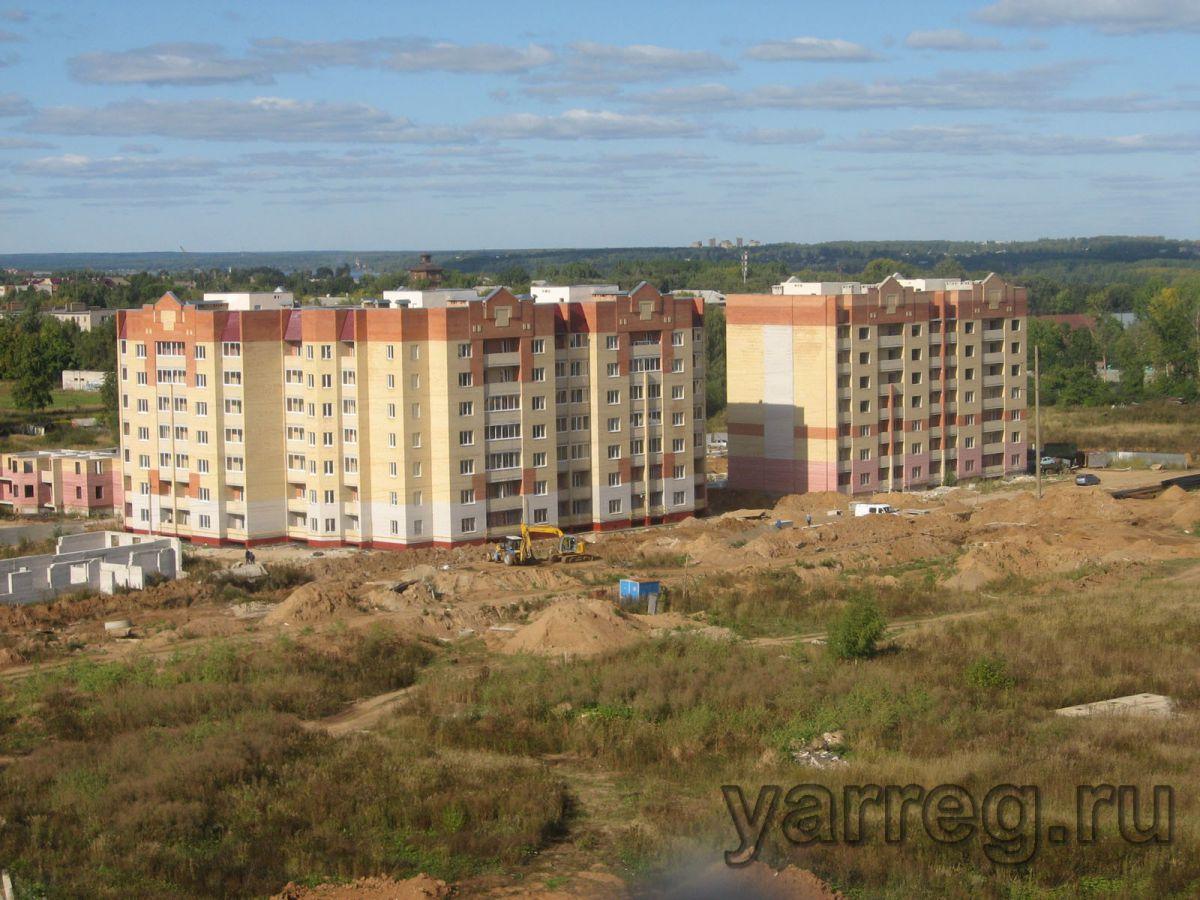 В Ярославской области успешно решается программа по расселению аварийного и ветхого жилья