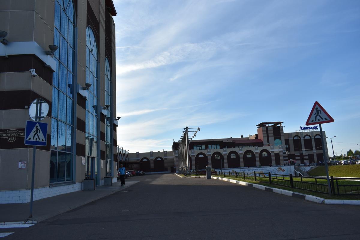 В Ярославле эвакуировали посетителей торгового центра
