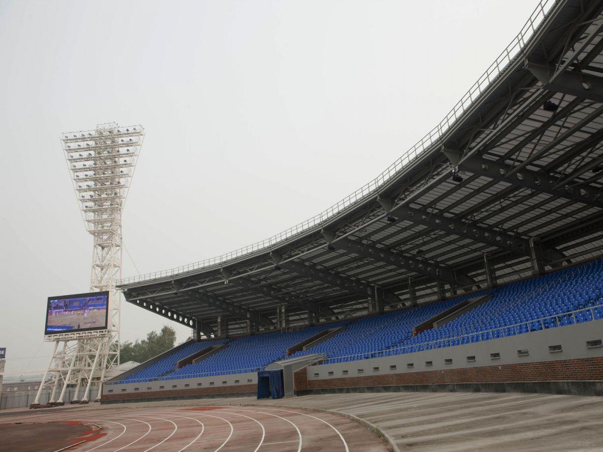 стадион шинник ярославль реконструкция фото видно, как