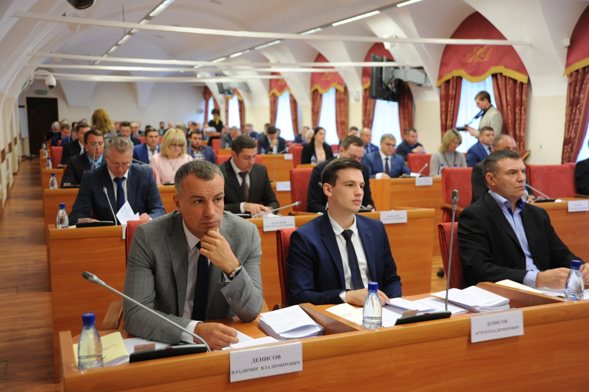 Депутаты Ярославской областной Думы приняли проект бюджета в первом чтении