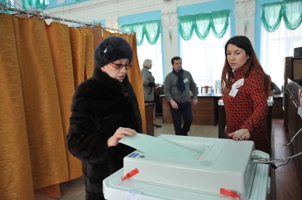 На 18.00 в Ярославской области проголосовали 58,97 процента избирателей