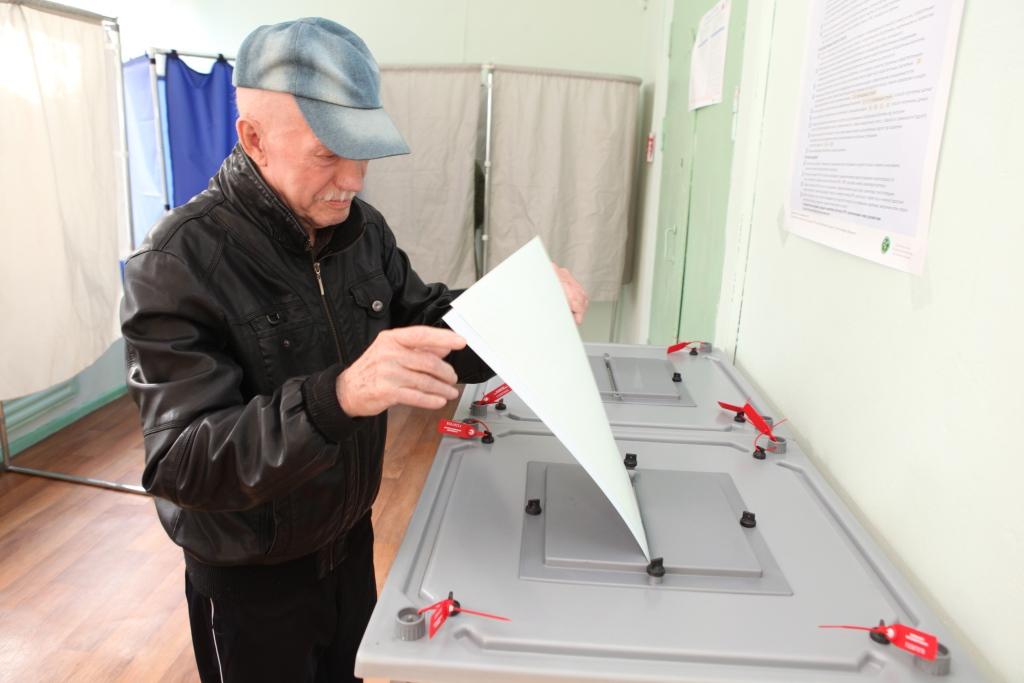 Представители разных партий следят за ходом досрочного голосования в Переславле