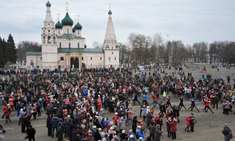 Ярославцы станцуют «Севастопольский вальс» на Советской площади