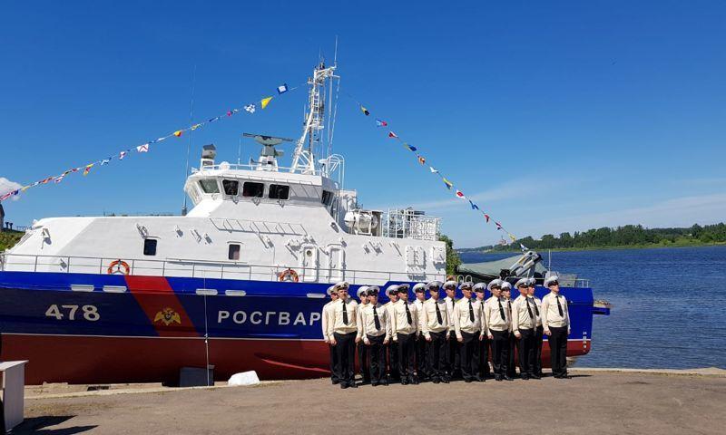 В Рыбинске спустили на воду корабль, который будет охранять Крымский мост