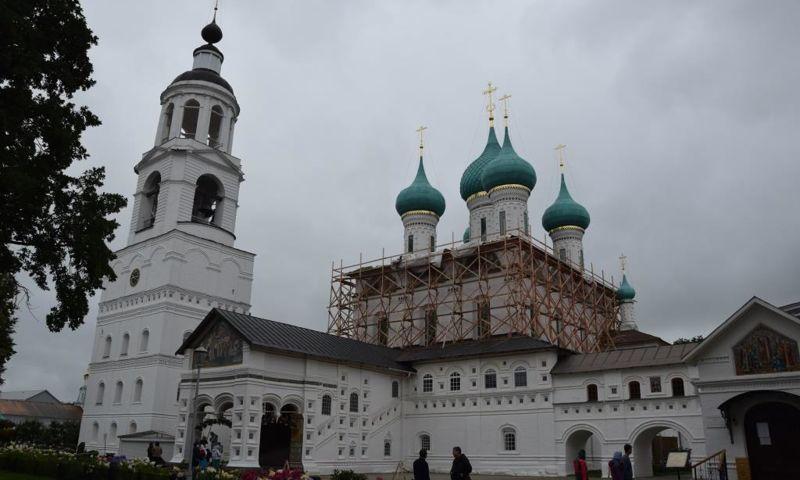 В Толгском монастыре восстановлен четверик Введенского собора
