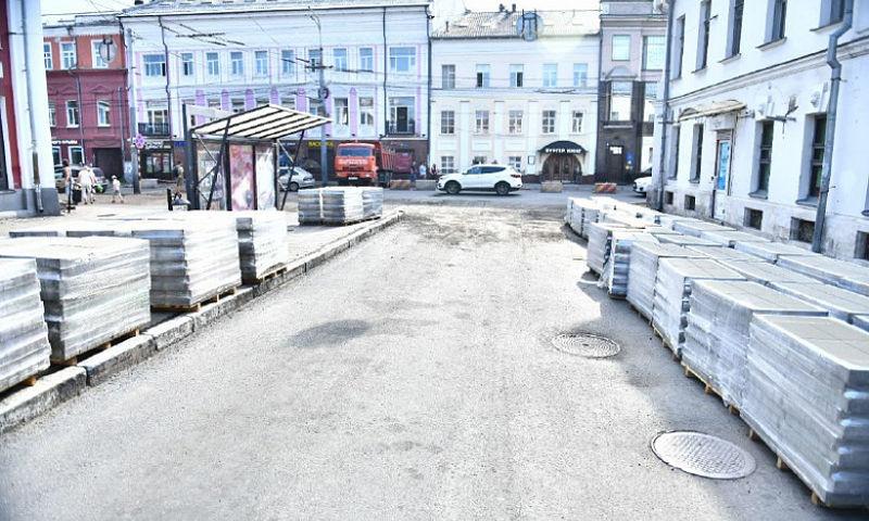 В Ярославле в очередной раз перенесли срок окончания работ на Комсомольской улице