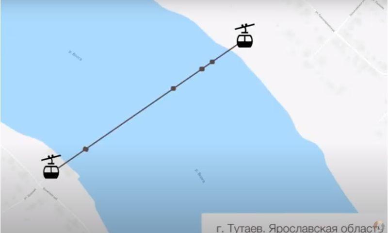 Зампред правительства Ярославской области рассказал, когда начнется строительство канатной дороги через Волгу