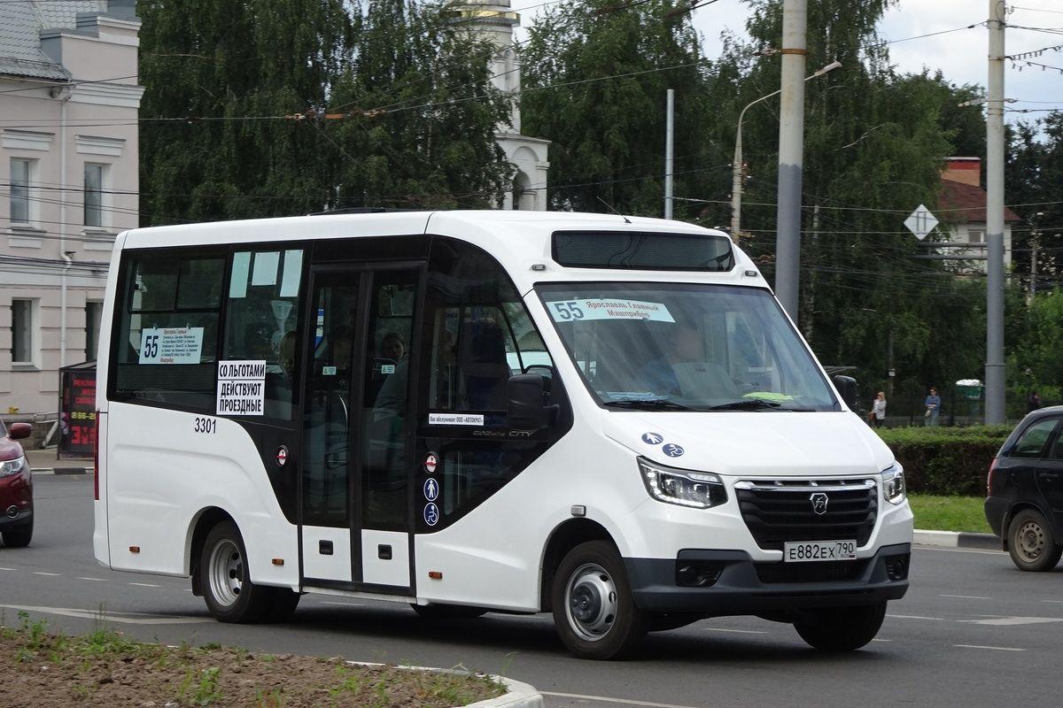 В Ярославле из-за ремонта улицы Красноборской изменился маршрут автобуса №55