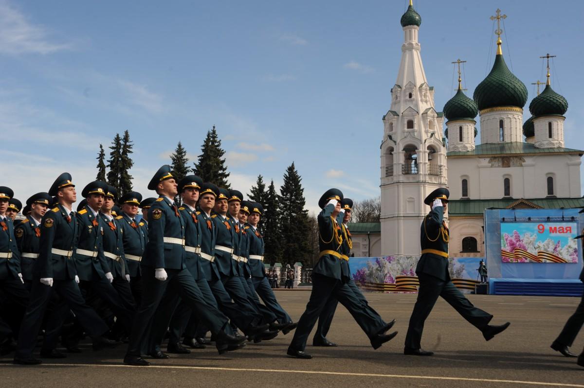 Парад на 9 Мая в Ярославле можно будет увидеть в прямом эфире